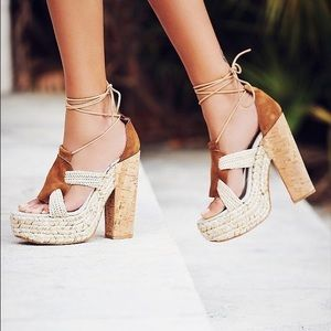 Free people high society sandals